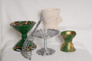 Incense burners from Ethiopia