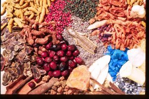 Traditional medicinal herbs sold in Israel