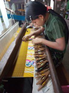 תיעוד טוויה מסורתית, בורמה
